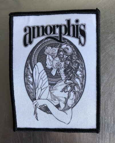 Amorphis: Queen of Time Aufnäher