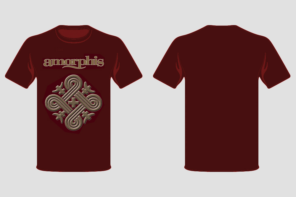 Amorphis: T-Shirt with Book as  Bundle