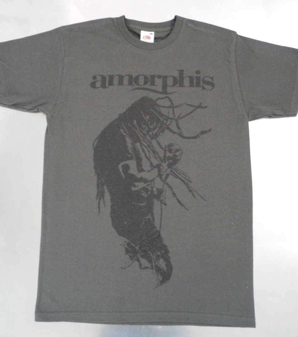 Amorphis Joutsen T Shirt Charcoal Kapanen Production Store
