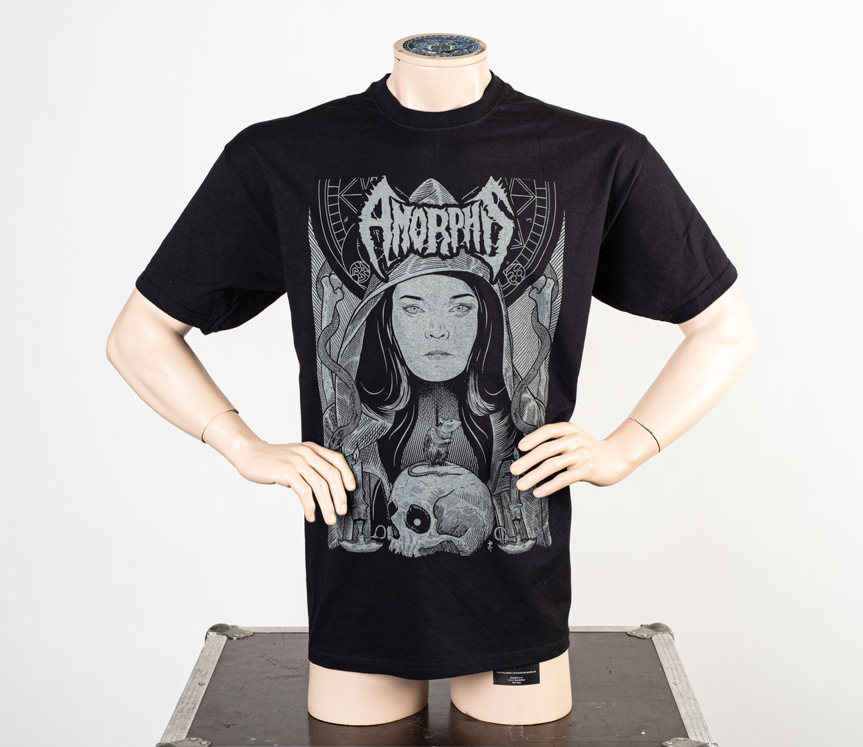 Amorphis: Grey  Woman T-Shirt