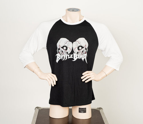 Battle Beast: Skull Raglan