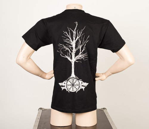 Wolfheart: Tree T-Shirt Black