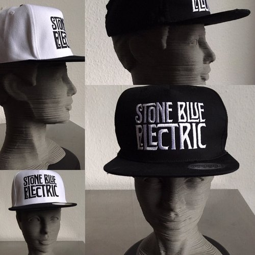 Stone Blue Electric: Snap Back Cap