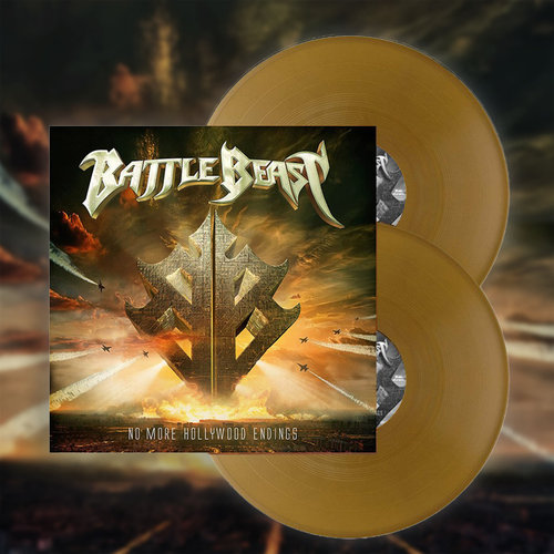 Battle Beast: No more Hollywood Endings  Gold  LP