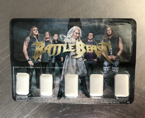 Battle Beast: Kaugummi Blister Pack