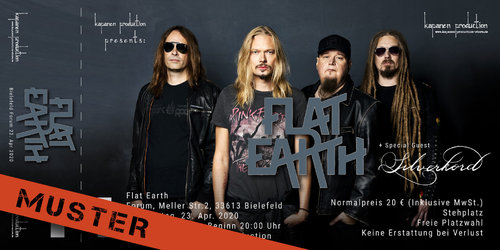 Kapanen: Flat Earth Ticket Bielefeld