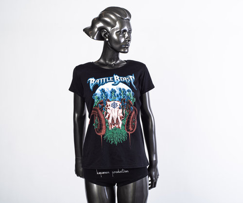 Battle Beast: Ram Skull Lady Fit