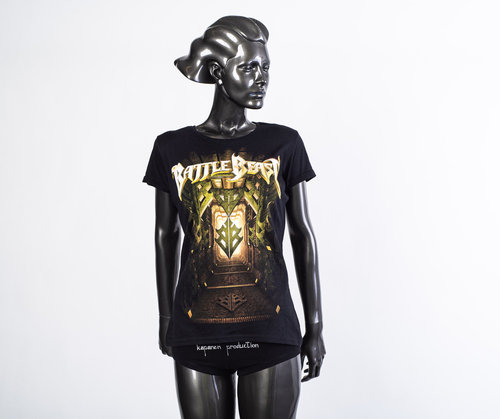 Battle Beast: Herbst 2019 Tourshirt Lady Fit