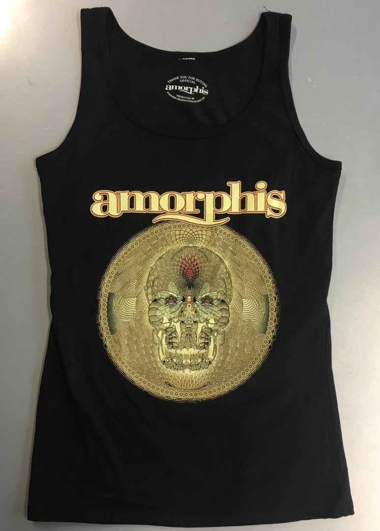 Amorphis: Queen of Time Nasiten Hihaton Paita