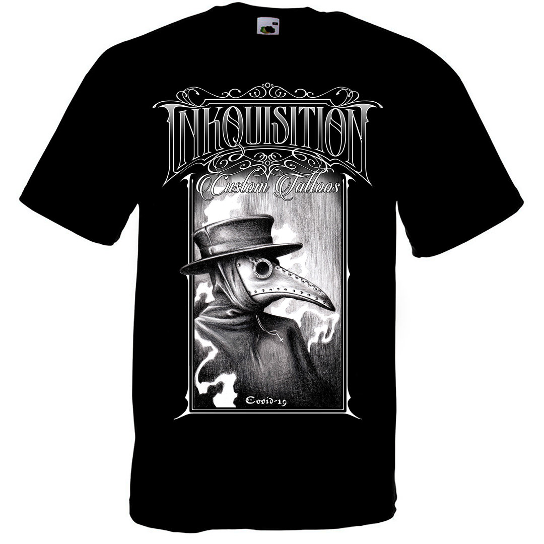 Inkquisition Tattoo: CoVid 19 T-Shirt