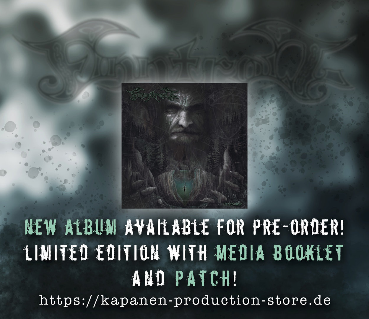 Finntroll: Vredesvävd CD Mediabook & Patch, Slipcase