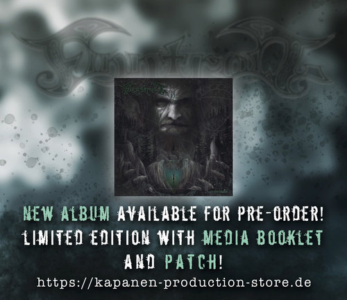 Finntroll: Pre Order Vredesvävd CD Mediabook & Patch,Slipcase