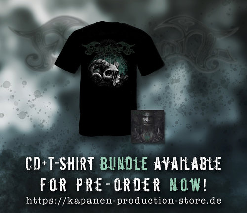 Finntroll:Vredesvävd CD Mediabook,Patch & T-Shirt Bundle