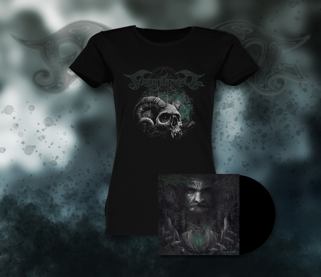Finntroll: Vredesvävd, Gatefold Vinyl LP & Lady Fit Shirt Bundle