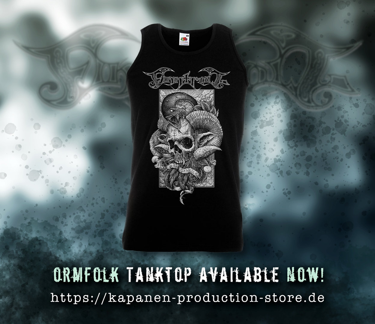 Finntroll: Ormfolk Mens Tank Top