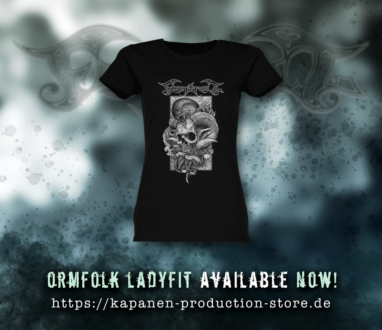 Finntroll: Ormfolk Lady Fit Shirt