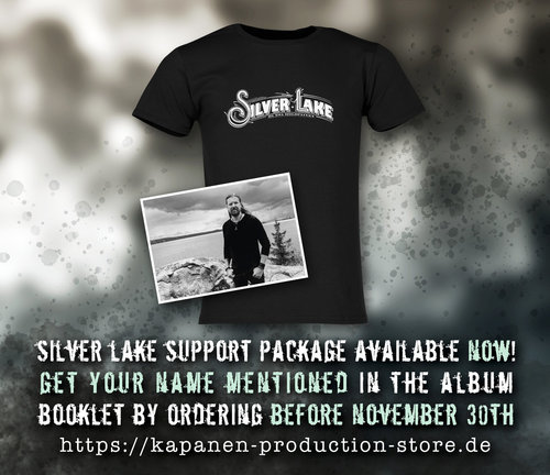 Silver Lake By Esa Holopainen: T-Shirt Support Package