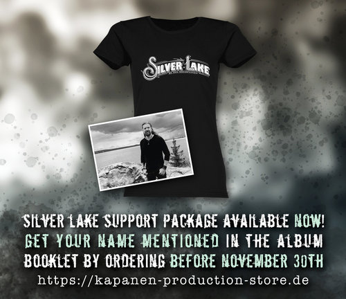 Silver Lake By Esa Holopainen: Lady Fit-Shirt Support Package